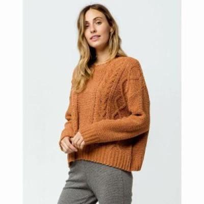 ビラボン ニット・セーター All Mine s Sweater Toffee