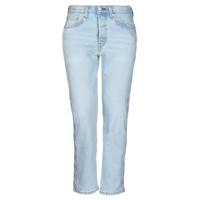 LEVI' S ジーンズ ブルー 24 コットン 99% / ポリウレタン 1% ジーンズ