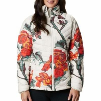 コロンビア Columbia レディース ジャケット アウター Powder Lite Insulated Jacket Chalk Botanica Print