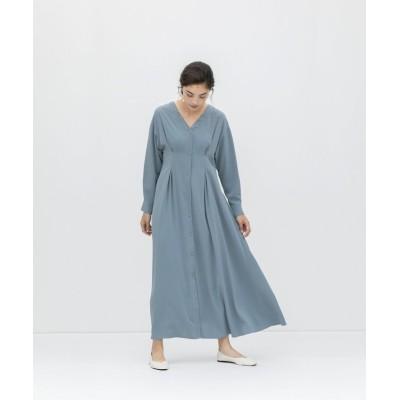 【スメラルダ】 ボックスタックドレス レディース ブルーグレー F smeralda