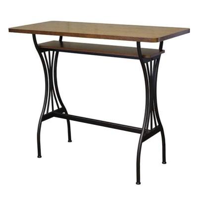 カウンターテーブル 幅120cm バーカウンター 木製 ハイテーブル 北欧 パソコンデスク バーカウンターテーブル カフェ