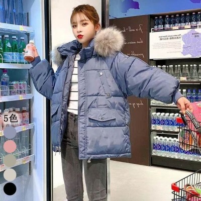 コート レディース 中綿コート ジャケット 20代 フード ファー ダウンジャケット 無地 防寒 中綿ジャケット 冬 アウター 5色