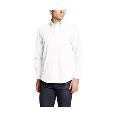 [フェイスミックス] オックスフォード長袖シャツ FB4510U メンズ (ホワイト 3L)