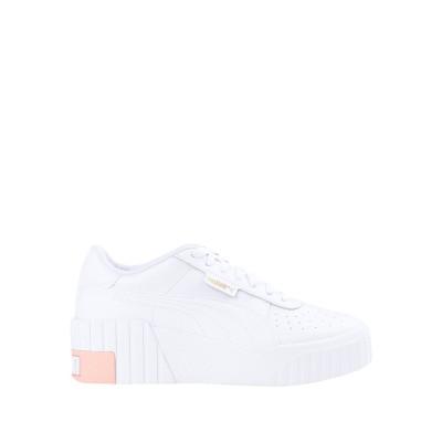 プーマ PUMA スニーカー&テニスシューズ(ローカット) ホワイト 5.5 革 / 紡績繊維 スニーカー&テニスシューズ(ローカット)