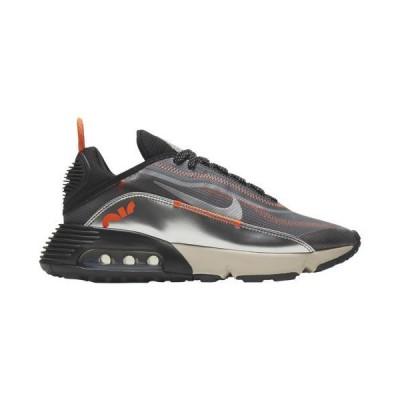 (取寄)ナイキ レディース シューズ エア マックス 2090 Nike Women's Shoes Air Max 2090 Black Mtlc Silver Light Orewood Brown