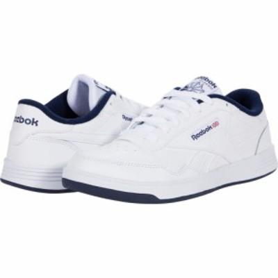 リーボック Reebok メンズ スニーカー シューズ・靴 Club Memt White/Collegiate Navy/White