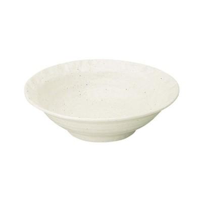 大鉢 和食器 / 新粉引 石目リム尺鉢 寸法: D-31 H-8.8cm