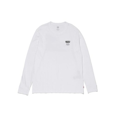 (Levi's/リーバイス)リラックス グラフィック ロングスリーブTシャツ WHITE/メンズ NEUTRALS