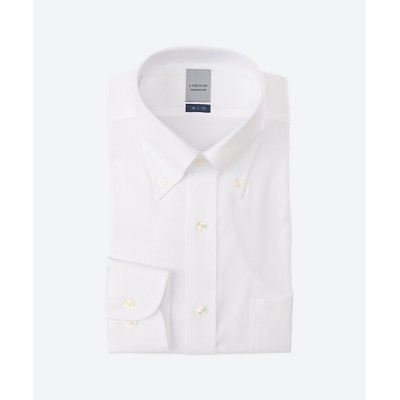 <LORDSON(Men)/ロードソン> 白無地ワイシャツ 100シロ【三越伊勢丹/公式】