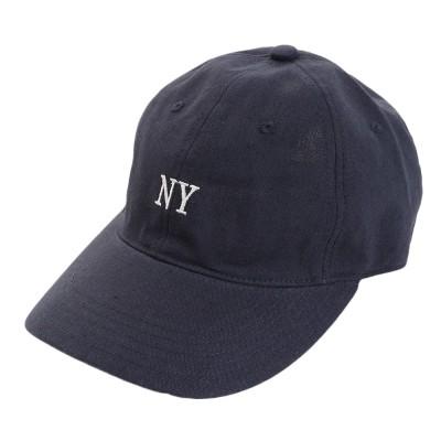 ACPGトレッキングリネン刺繍 NY キャップ 897PA9ST1690 NVYネイビー