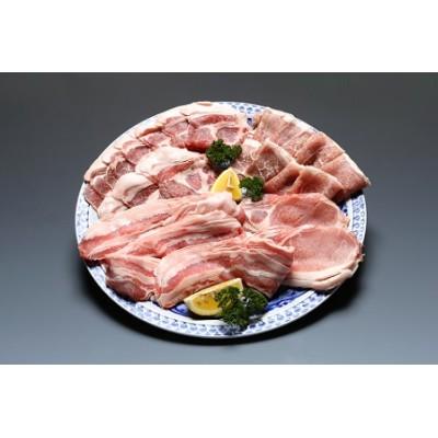 パンを食べて育ったむつみ豚の焼肉セット(2万円コース)