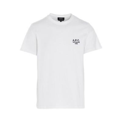 A.P.C./アーペーセー Tシャツ Bianco メンズ 春夏2021 COEAVH26840AABWHITE ju