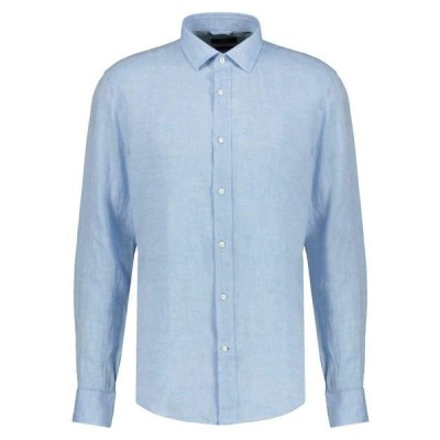ボス メンズ ファッション Shirt - hellblau
