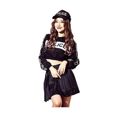 (ディータ) Dita コスプレ衣装 クールブラック ポリス コスチューム 2Lサイズ