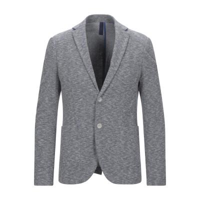 ALTATENSIONE テーラードジャケット ブルー 50 コットン 66% / ポリエステル 25% / ナイロン 7% / ポリウレタン 2%