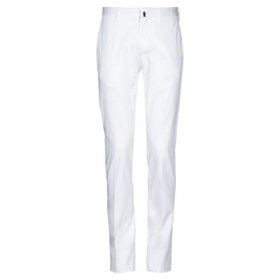 インコテックス INCOTEX パンツ ホワイト 46 コットン 97% / ポリウレタン 3% パンツ