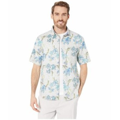 Tommy Bahama トミーバハマ 服 一般 Tahitian Etch Stretch-Cotton Camp Shirt