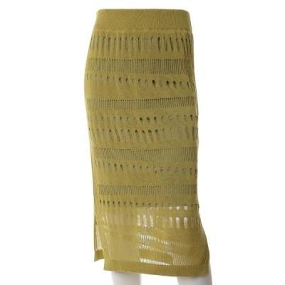 7-IDconcept / セブンアイディーコンセプト ホールガーメント(R)クラッシュダメージニットスカート