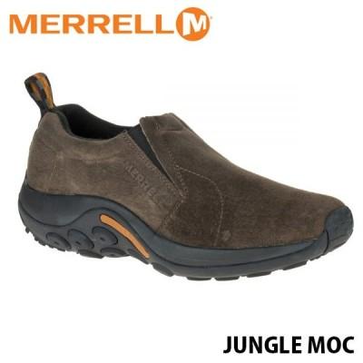 メレル MERRELL レディース ジャングルモック ガンスモーク アウトドア ウォーキング レザー スリッポン シューズ JUNGLE MOC 60788 MERW60788