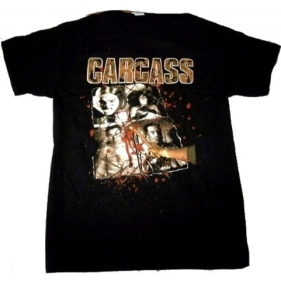 CARCASS「NECROTICISM」Tシャツ