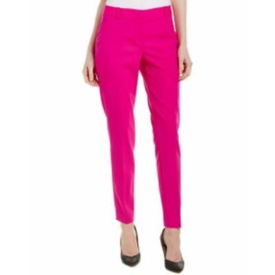 Elie Tahari エリータハリ ファッション パンツ Elie Tahari Wool-Blend Pant 2 Pink