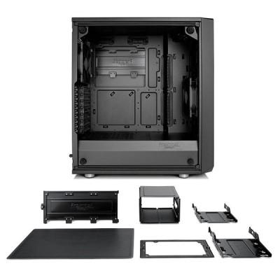 Fractal Design Meshify C Blackout TG Light Tint ミドルタワー型PCケース CS7100 FD
