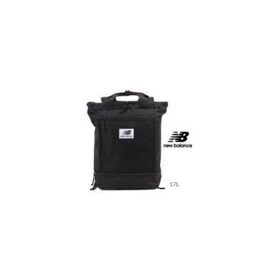 NewBalance ニューバランス  JABL0675 ナイロン 2way トート リュック ブラック/ブラック Athleticシリーズ