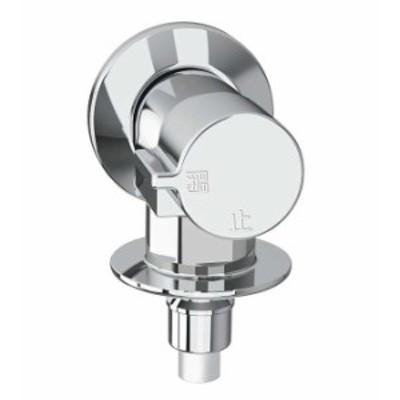 【LIXIL】LIXIL/INAX 洗濯機用 緊急止水弁付横水栓 LF-WJ50KQ 壁付タイプ 送料無料 TW11R K115