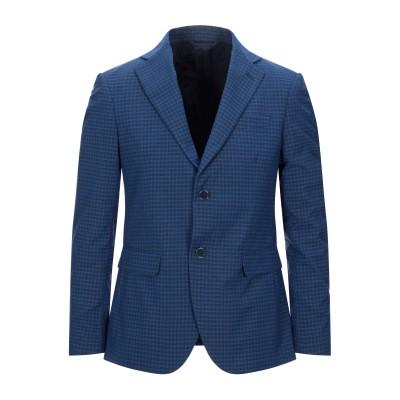 MARCIANO テーラードジャケット ブルー 48 ポリエステル 74% / レーヨン 24% / ポリウレタン 2% テーラードジャケット