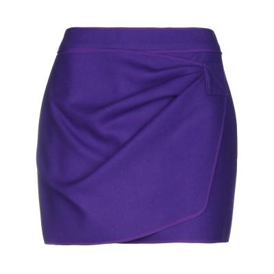 ヌメロ ヴェントゥーノ N°21 ミニスカート パープル 40 ウール 75% / ナイロン 20% / カシミヤ 5% ミニスカート