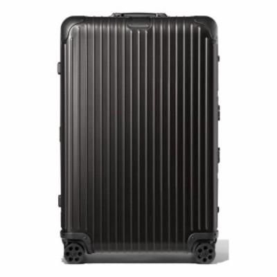 リモワ RIMOWA メンズ スーツケース・キャリーバッグ バッグ Original 31-Inch Wheeled Suitcase Black