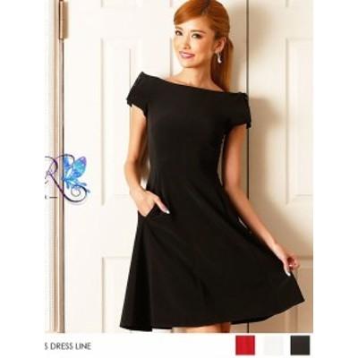 AngelR ドレス エンジェルアール キャバドレス ナイトドレス ワンピース 全3色 7号 S 6335-AR クラブ スナック キャバクラ パーティード