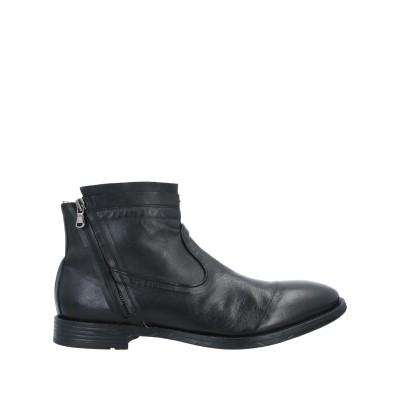 PAWELK'S ショートブーツ ブラック 45 革 ショートブーツ
