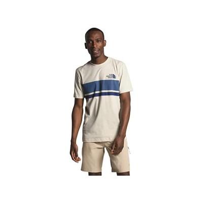 ザ・ノースフェイス Horizon Lines Short Sleeve Tee メンズ シャツ トップス Vintage White