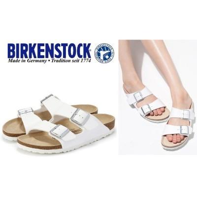 BIRKENSTCK ビルケンシュトック 靴  ビルケン  ARIZONA アリゾナ幅細ナロー051733  WHITE サンダル 幅狭タイプ