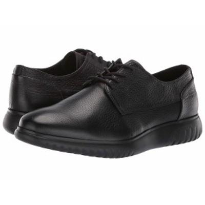 カルバンクライン メンズ スニーカー シューズ Teodor Black/Black Soft Tumbled Leather