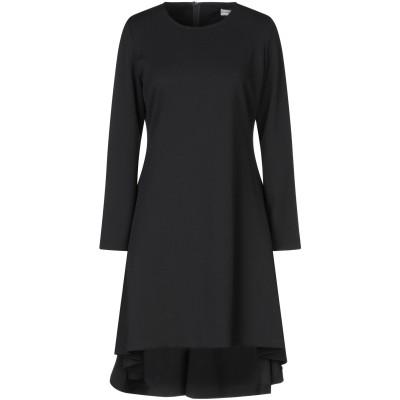 SUPPOSE ミニワンピース&ドレス ブラック M ポリエステル 95% / ポリウレタン 5% ミニワンピース&ドレス