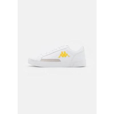 カッパ レディース スポーツ用品 LOLLO LOW - Sports shoes - white/yellow