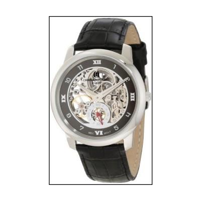 Charles-Hubert Paris 3932 Stainless Steel Case Mechanical Watch[並行輸入品]