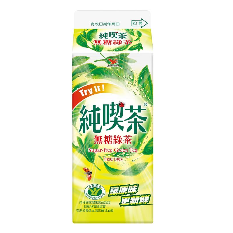 統一純喫茶-無糖綠茶650ml