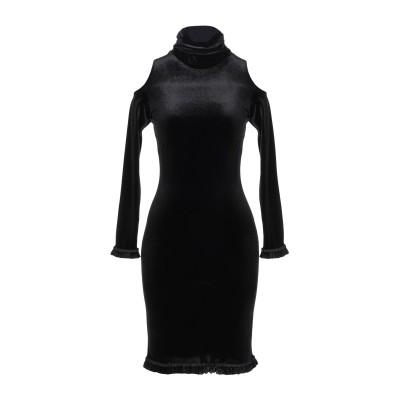 フェイス・コネクション FAITH CONNEXION ミニワンピース&ドレス ブラック XS ポリエステル 93% / ポリウレタン 7% ミニワ