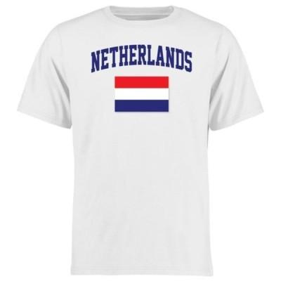 ファナティクス ブランデッド メンズ Tシャツ トップス Netherlands Flag T-Shirt