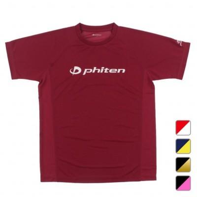 ファイテン メンズ レディース バレーボール 半袖Tシャツ RAKUシャツSPORTS SMOOTH DRY phiten
