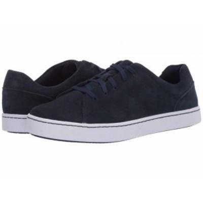 Clarks クラークス レディース 女性用 シューズ 靴 スニーカー 運動靴 Pawley Springs Navy Suede【送料無料】