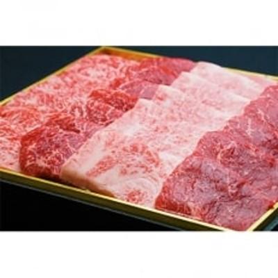 宮崎牛霜降り&赤身焼肉セット700g