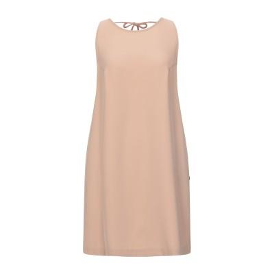 OTTOD'AME ミニワンピース&ドレス サンド S ポリエステル 97% / ポリウレタン 3% ミニワンピース&ドレス