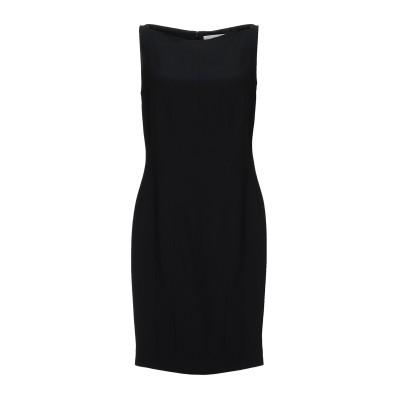 ジェニー GENNY ミニワンピース&ドレス ブラック 44 レーヨン 50% / アセテート 50% ミニワンピース&ドレス