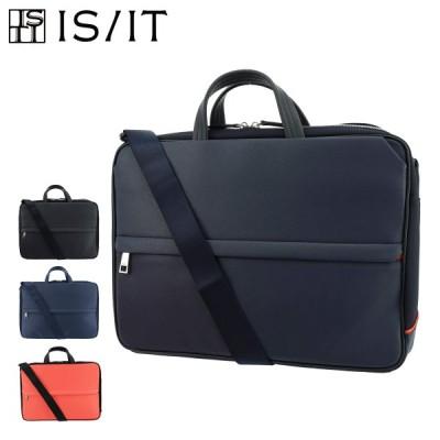イズイット ビジネスバッグ A4 メンズ サフィール 937503 IS/IT ISIT | ブリーフケース ビジネスリュック キャリーセットアップ 撥水[クリスマス]