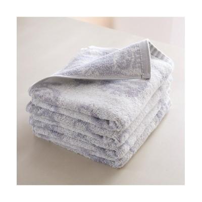 ジャガード織りフェイスタオル ハッピーアニマル 同柄4枚セット フェイスタオル, Towels(ニッセン、nissen)