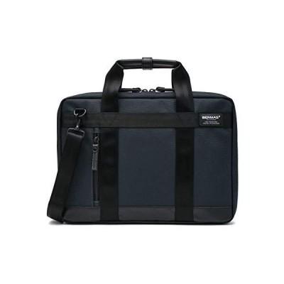 [バーマス] ビジネスバッグ バウアー3 A4サイズ対応 撥水 60328 ネイビー